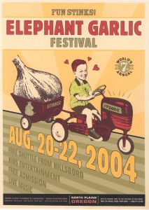 Posters | 20th Annual Elephant Garlic Festival