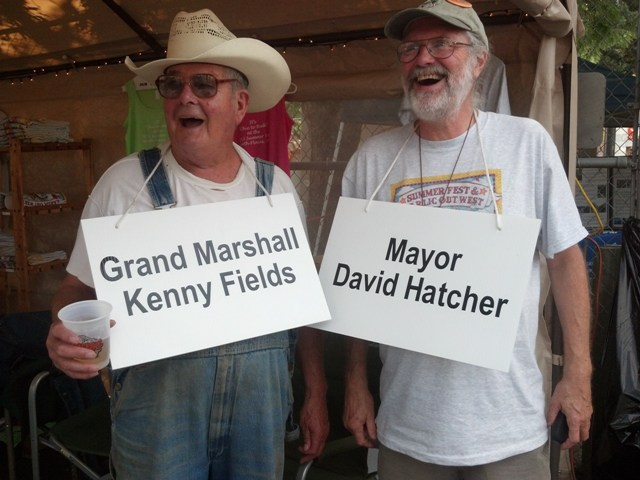 Mayor and Grand Marshall