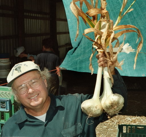 Bob Gnos garlic
